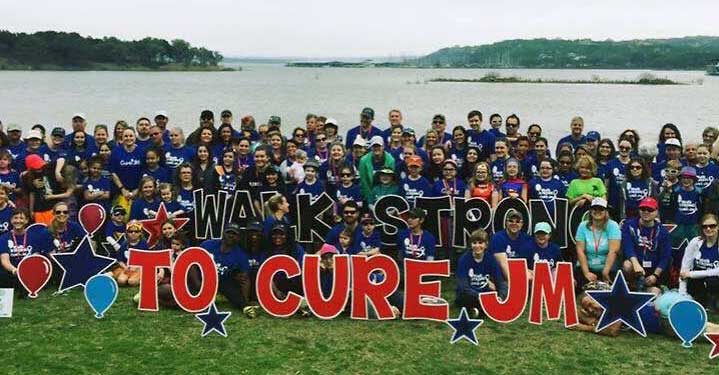 Walk strong to Cure JM Group Photo