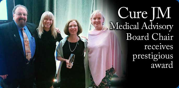 Cure JM Medical Advisory Board Chair Wins Prestigious Award