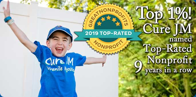 Top 1%: Cure JM named top-rated nonprofit 9 years in a row.
