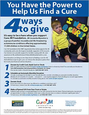 4 Ways to Give Donation Flyer