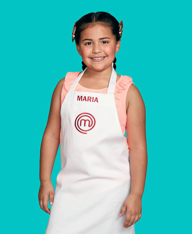 Maria in Chef's Apron