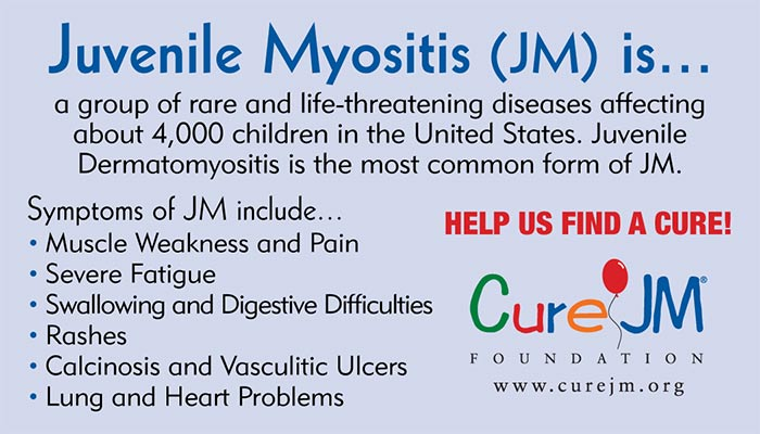 Cure JM/Juvenile Myositis Cards Sample